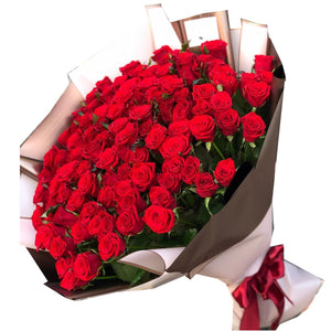 150 Red Roses Forever Romance Bouquet * VASE NOT INCLUDED