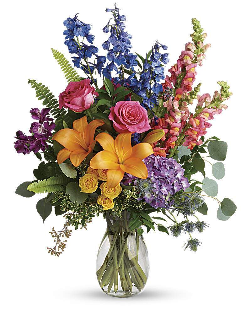 Colors Of The Rainbow Bouquet - Excellent Florists