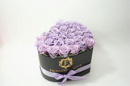 Heart Box Lavender