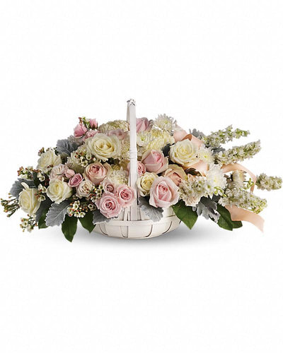 Dawn of Remembrance Basket - Excellent Florists