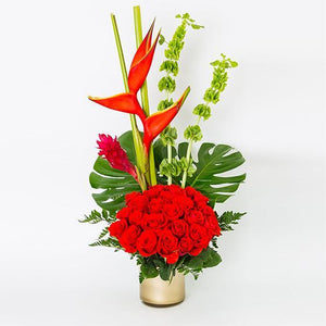 Pretty in Red - Excellent Florists