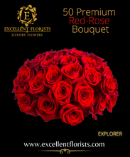 Load image into Gallery viewer, Bouquet 50 stems Explorer roses