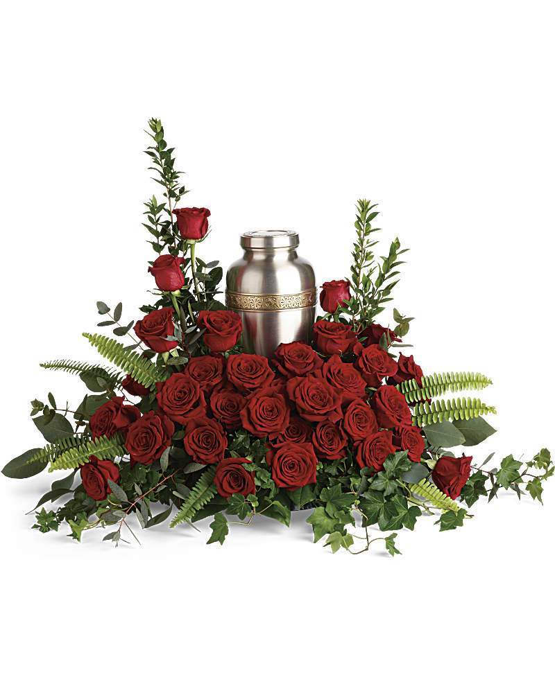 Forever In Our Hearts Cremation Tribute - Excellent Florists