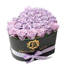 Load image into Gallery viewer, Heart Box Lavender - Excellent Florists