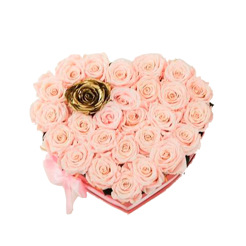Heart Light Pink - Excellent Florists
