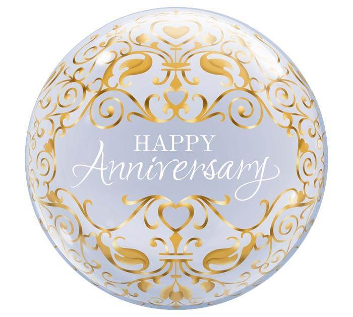 Happy Anniversary Bubble Balloon