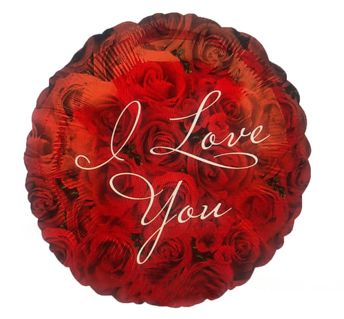 I Love You Circle of roses Balloon