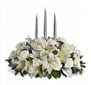 Silver Luxury Centerpiece
