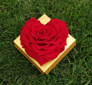 Red Heart Rose Excellent Florists