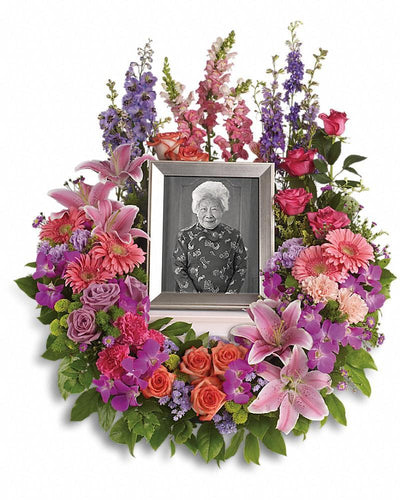 In Memoriam Wreath - Excellent Florists
