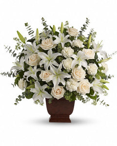 Loving Lilies and Roses Bouquet - Excellent Florists