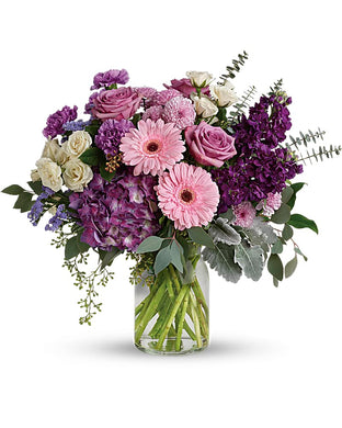 Magnificent Mauves Bouquet - Excellent Florists