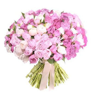 Pink Peonies Bouquet - Excellent Florists