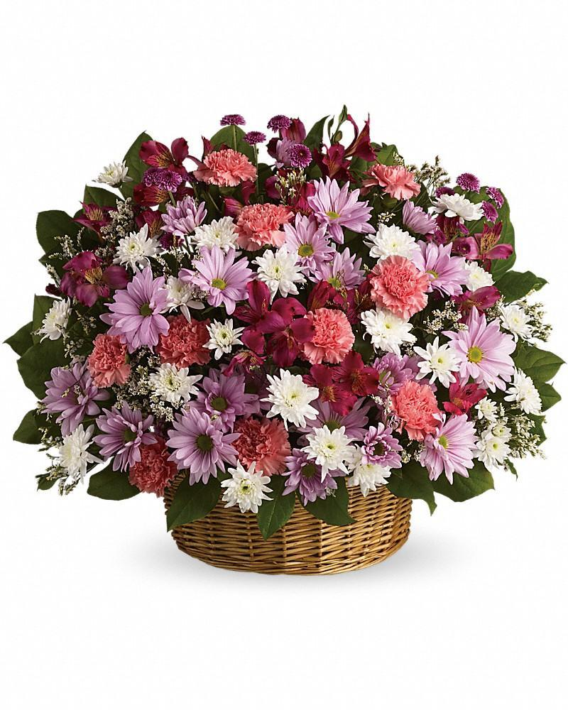 Rainbow Reflections Basket - Excellent Florists