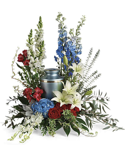 Reflections Of Honor Cremation Tribute - Excellent Florists