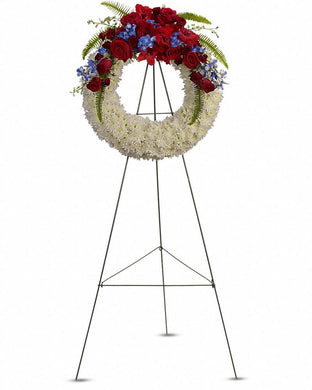 Reflections of Glory Wreath - Excellent Florists
