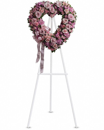 Rose Garden Heart - Excellent Florists