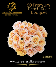 Load image into Gallery viewer, Bouquet 50 stems Shimmer roses