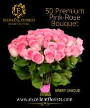 Load image into Gallery viewer, Bouquet 50 stems Sweet Unique roses.