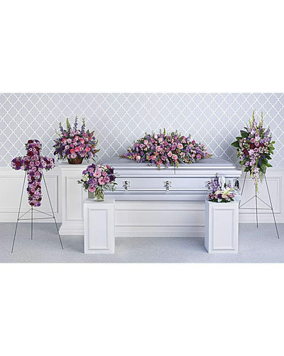 Lavender Tribute Collection - Excellent Florists