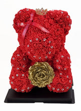 "Load image into Gallery viewer, Rose Teddy Bear Gift Box  14""  (40 cm) (Promotion)"
