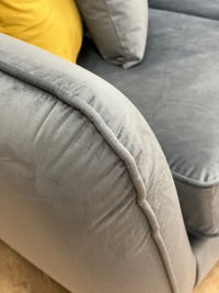 modern grey sofa perth lebus collection