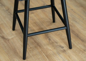 Grey Faux Leather Industrial Kitchen Breakfast bar Stool, Wayfair Dunelm Montreal Rivington Bar Stool.