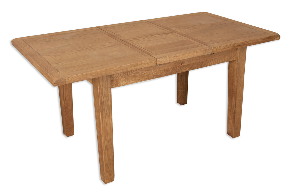 Oakwood Living Country Oak 1.6 Extending Dining Table 160/210 x 91 x 77 cm