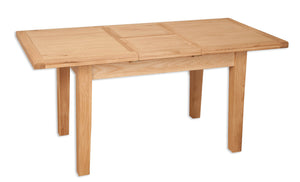 8 seater dining extending table solid natural oak