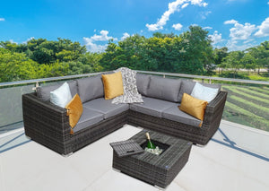 Rattan Ice Bucket, Sol 72 Outdoor Rattan Garden Furniture, Grey Rattan Corner Sofa, Grey Rattan Garden Furniture Set, Luxury Rattan, Maze Rattan, Signature Weave