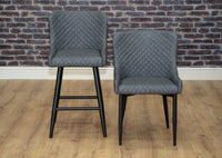 Shoreditch Montreal Rivington Dunelm Wayfair Grey Industrial Dining chair and bar stool
