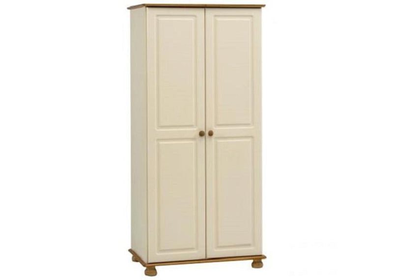 Richmond 2 Door Wardrobe Cream and Pine