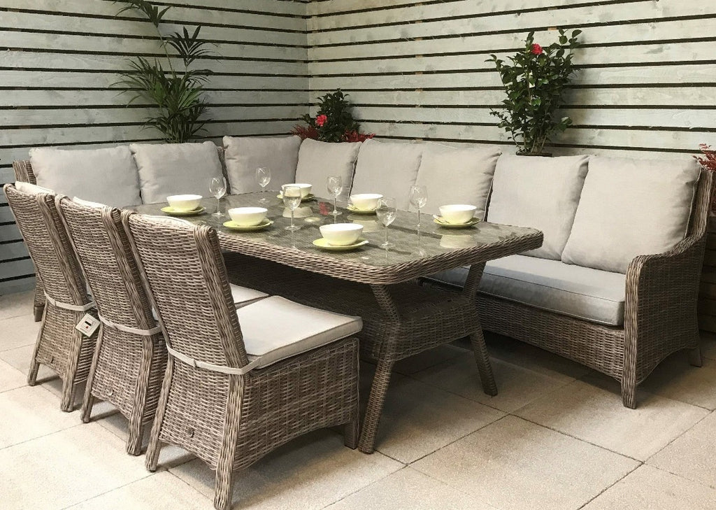 Alex Rattan Corner Sofa Set, Signature Weave Rattan, Edwina Rattan Corner Sofa Set, Auberta Rattan, Sol 72 Outdoor, Zipcode Design, Beachcrest Home, Garden Furniture