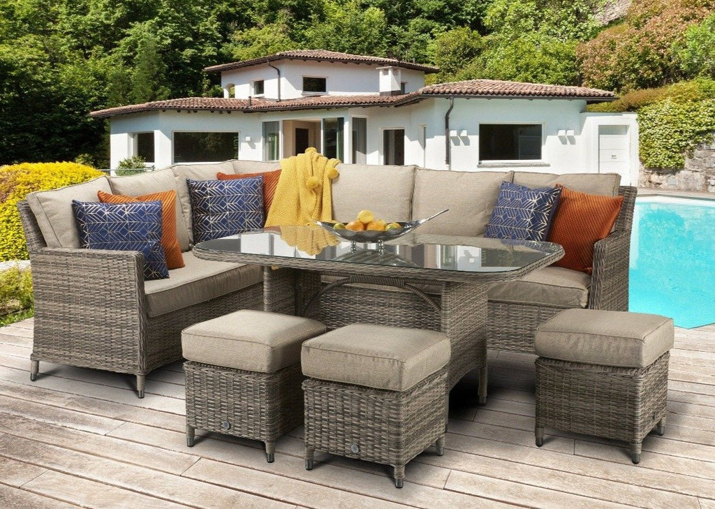 Signature Weave Rattan, Edwina Rattan Corner Sofa Set, Auberta Rattan, Sol 72 Outdoor, Zipcode Design, Beachcrest Home, Garden Furniture