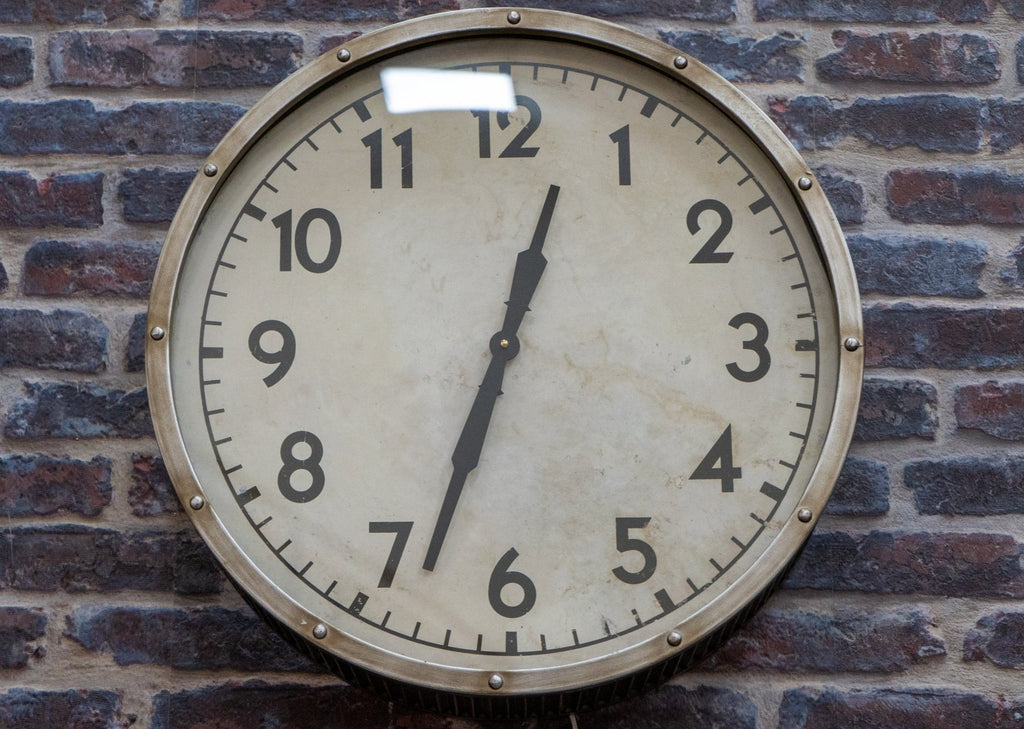 Vintage Style Wall Clock