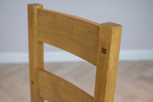Oakwood Living Country Oak Dining Chair