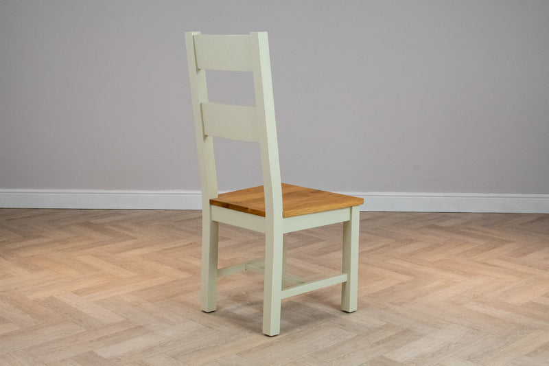 Oakwood Living Ivory Painted Oak Dining Chair