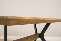'ModaNuvo' Industrial 4/6 Seater Dining Table