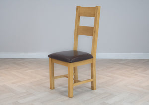 Oakwood Living Natural Oak Dining Chair