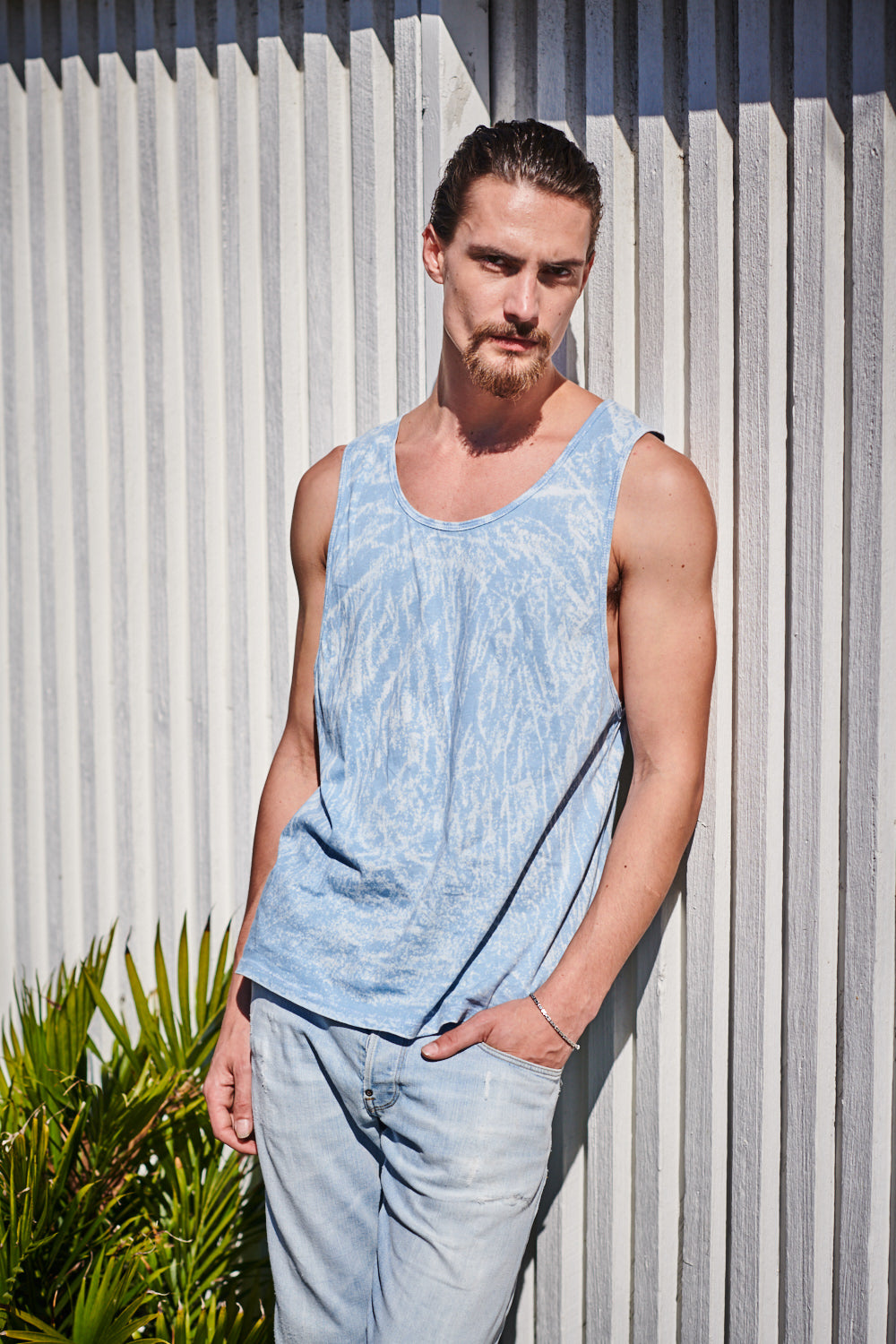 INTO THE BLUE SINGLET