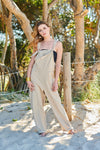 SUMMER BREEZE OVERALLS CREAM