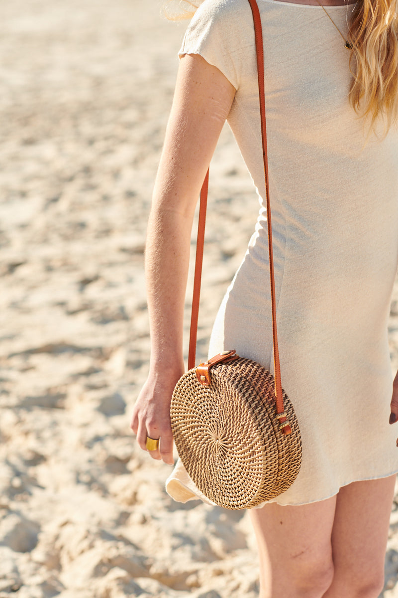 MAJORCA STRAW BAG NATURAL