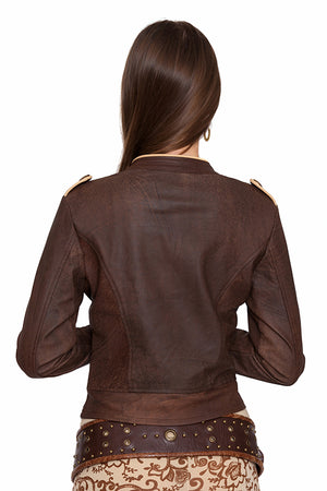 EVOLUTION LEATHER JACKET