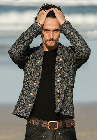 HIVE JACKET WITH COMPASSION PRINT