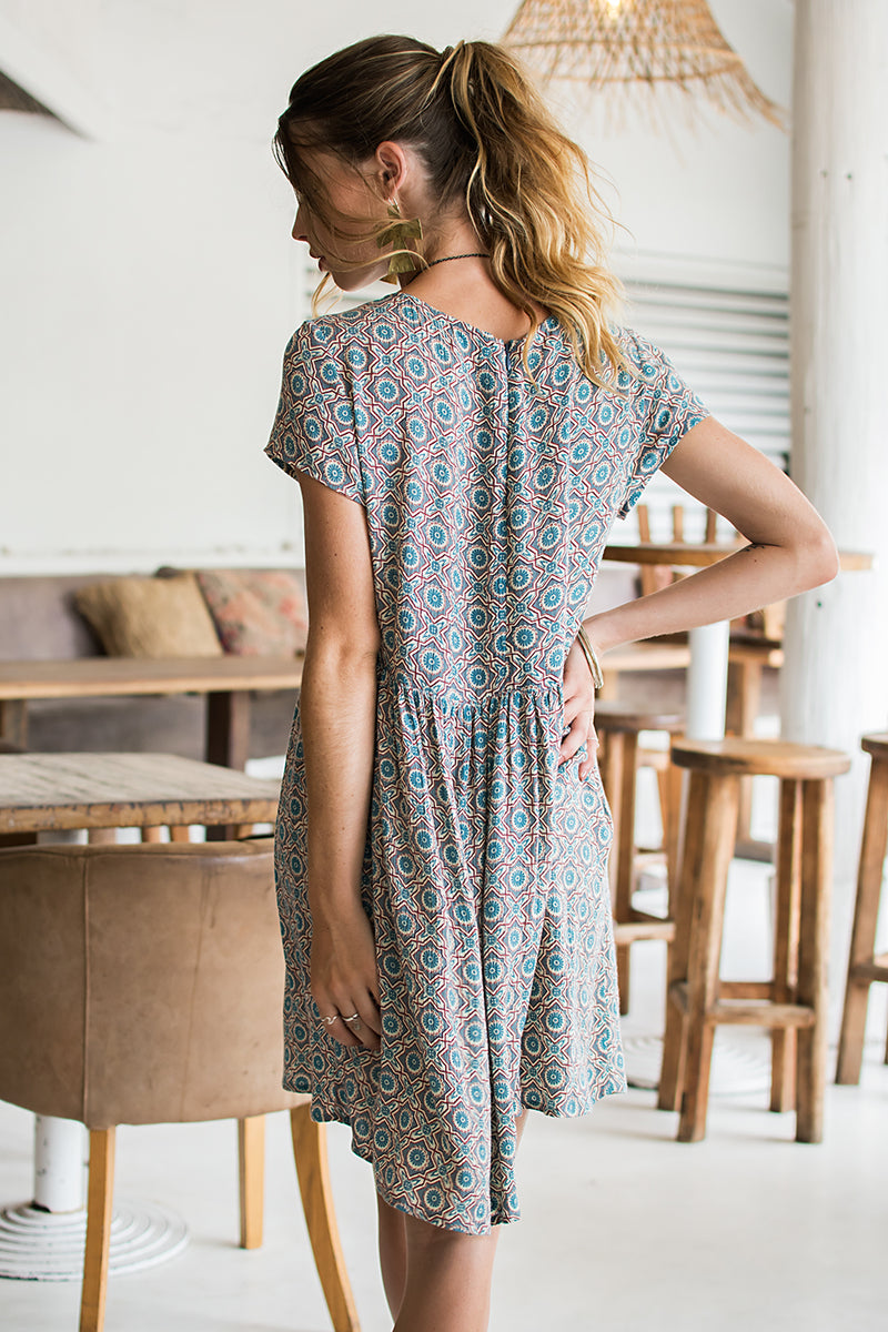MILLA DRESS WITH PRINT