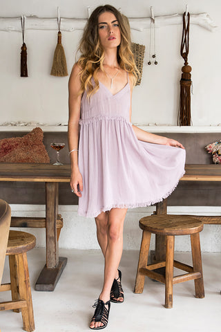 SILK ROSE DRESS