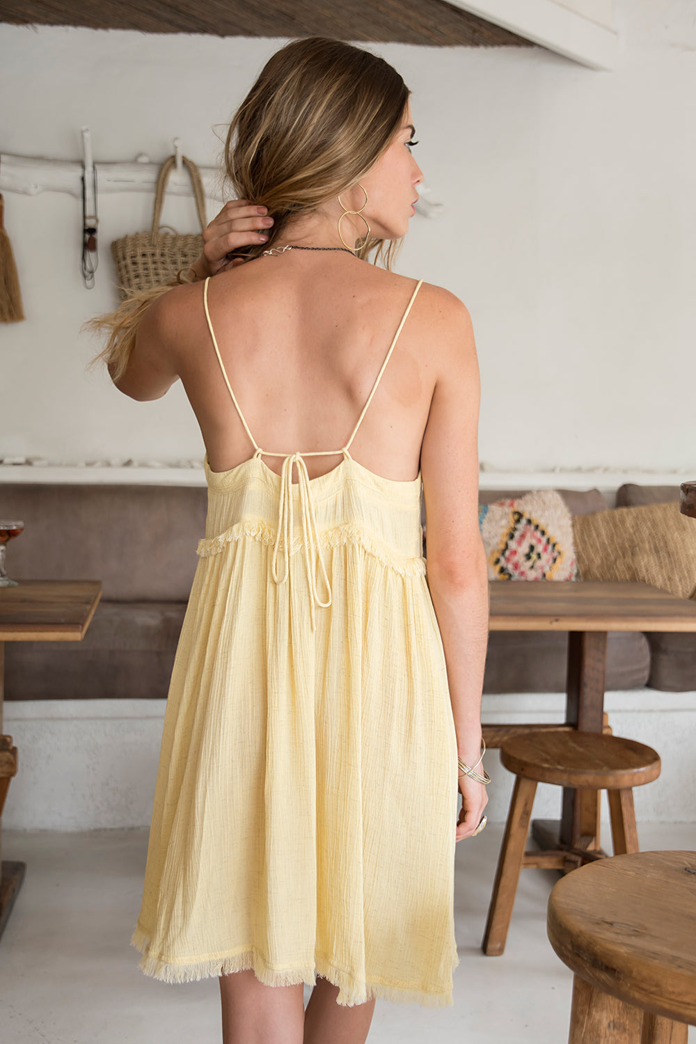 CARMEN DRESS YELLOW