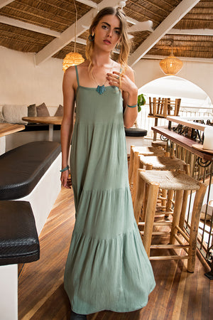 BREEZE DRESS GREEN