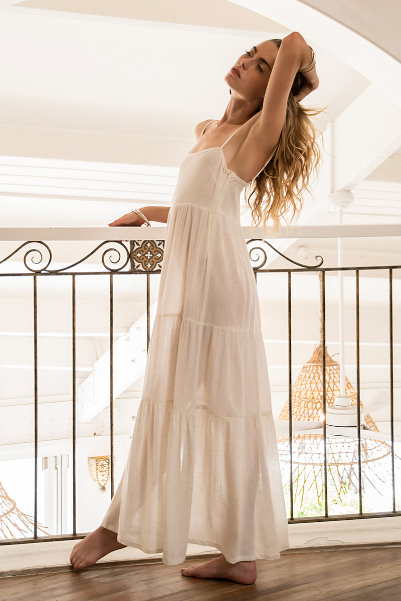 BREEZE DRESS NATURAL WHITE
