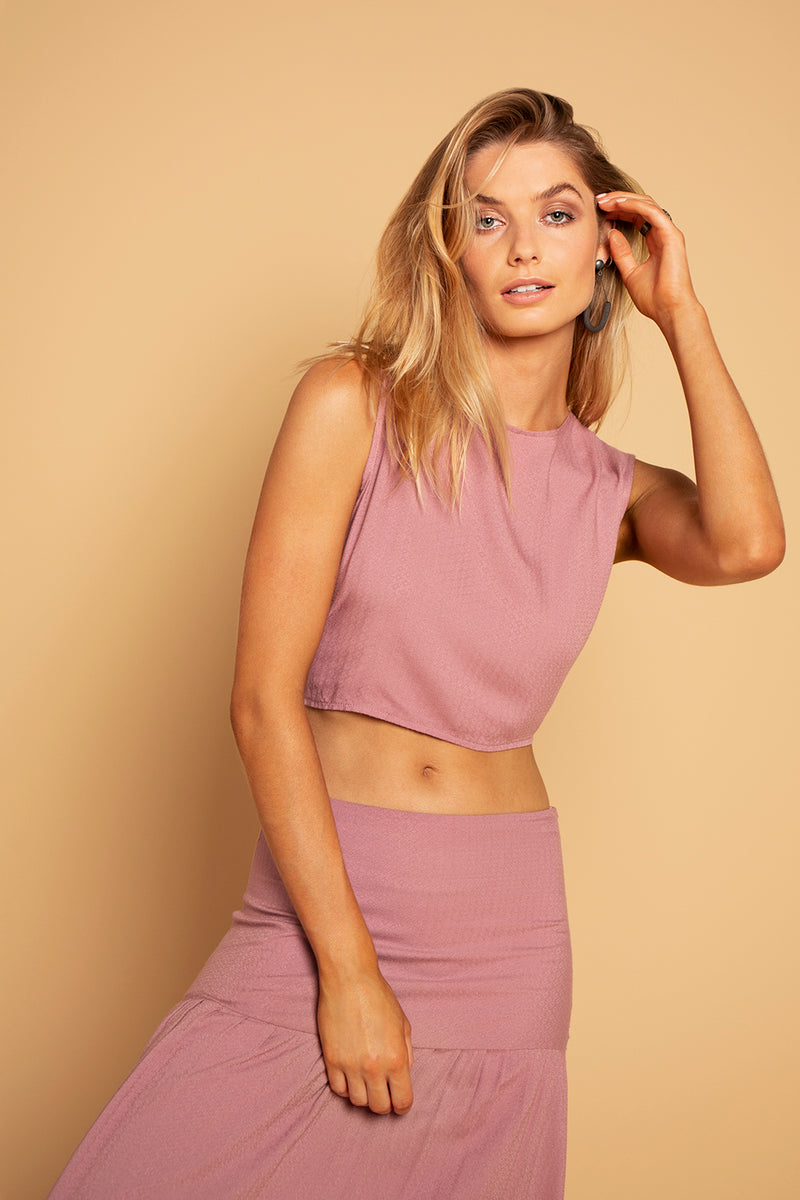 CHANGE TOP MAUVE